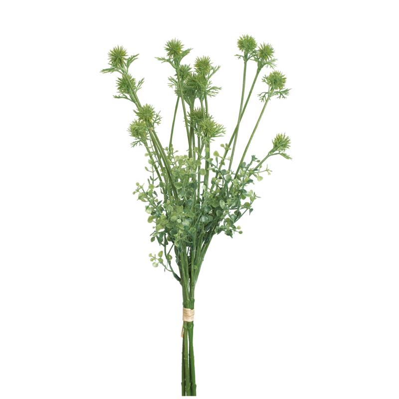 Zöld rambután művirág